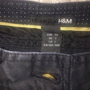 H&M Jeans - H&M Black low cut pants
